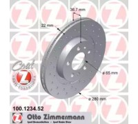 100123452 ZIMMERMANN - купить в магазине запчастей по Украине