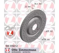 100335852 ZIMMERMANN - купить в магазине запчастей по Украине