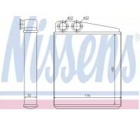 70228 NISSENS - купить в магазине запчастей по Украине