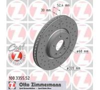 100335552 ZIMMERMANN - купить в магазине запчастей по Украине