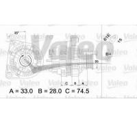 437309 VALEO - купить в магазине запчастей по Украине