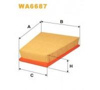 WA6687 WIX FILTERS - купить в магазине запчастей по Украине